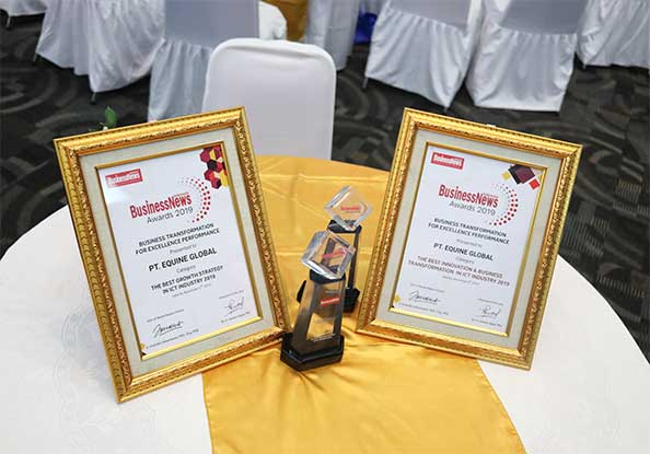 Equine Technologies Group The Winner Of Indonesia BusinessNews Award 2019