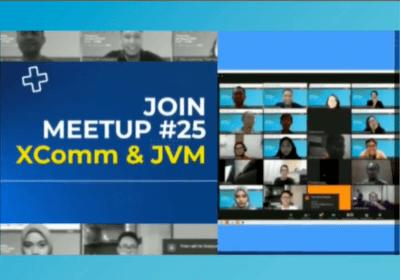 Join Meetup #25 XComm & JVM.