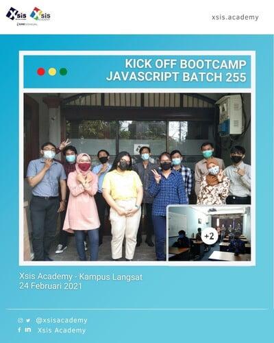 Bootcamp Javascript - Batch 255